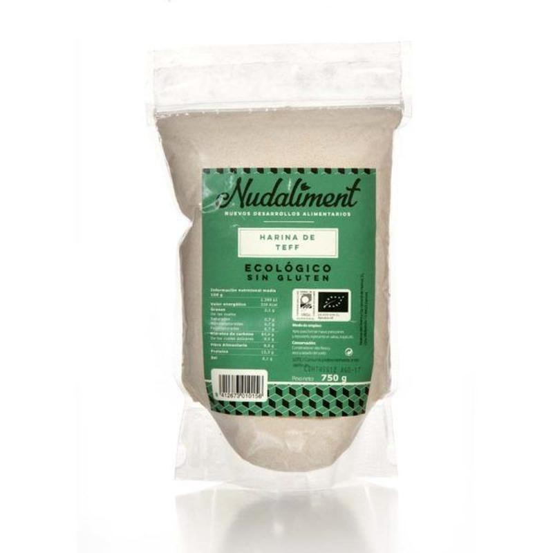 Harina de teff ecológica sin gluten: Productos de Coperblanc Zamorana