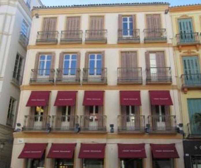 Rehabilitación fachada y cubierta