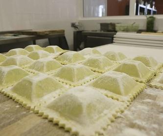 Ravioli frescos de pera y gorgonzola : Nuestros productos de La Pastaia