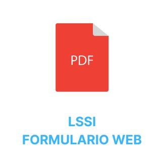 LSSI - Formulario web   Arba S.A.