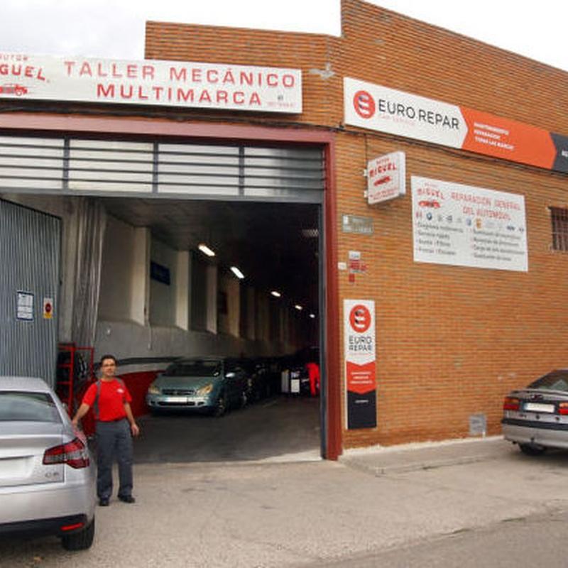 Servicio de neumáticos y puesta a punto para el invierno: Servicios de Autos - Miguel