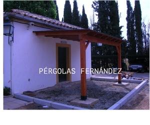 Todos los productos y servicios de Toldos y pérgolas: Pérgolas Fernández