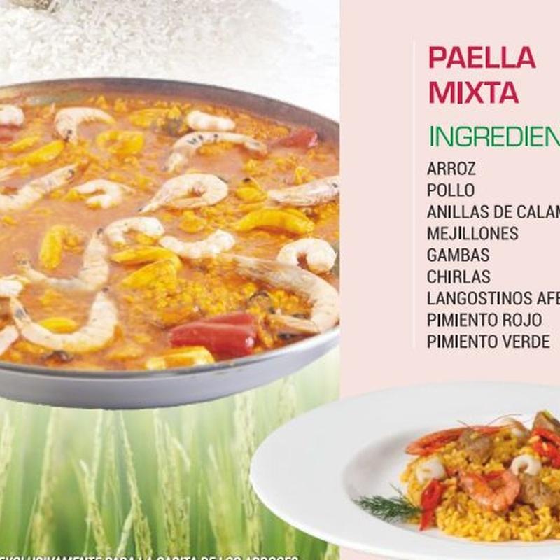 Paella mixta: Servicio a domicilio de La Casita de los Arroces