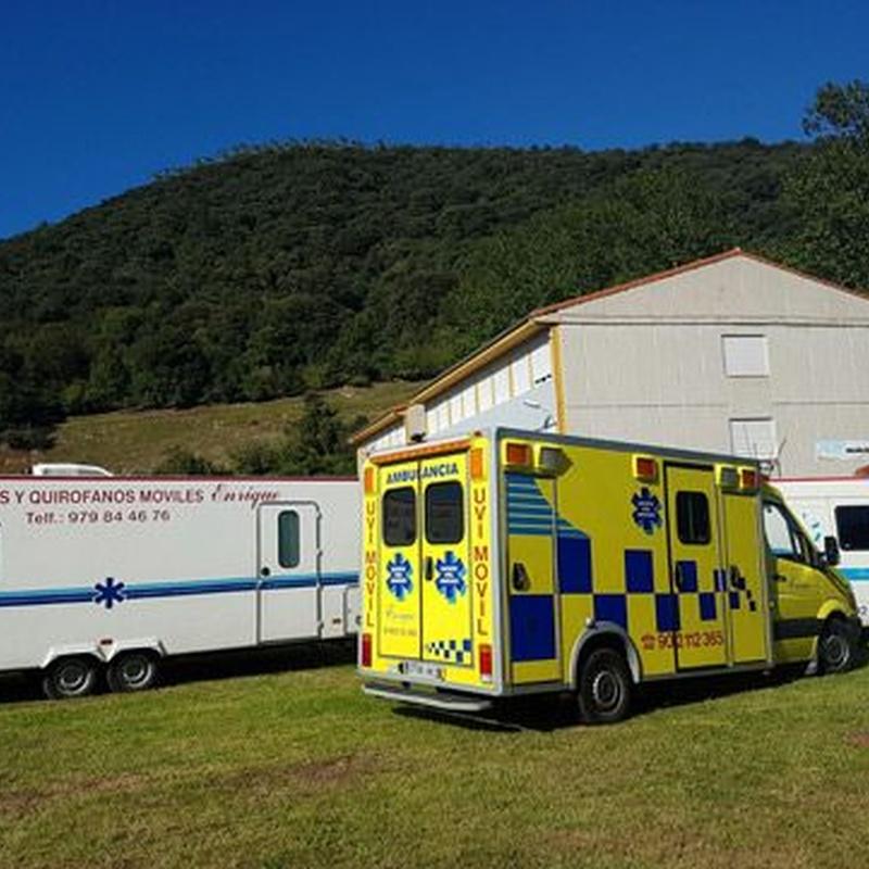 Traslados nacionales e internacionales: Servicios de Ambulancias Enrique