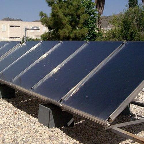 Placas solares para uso doméstico