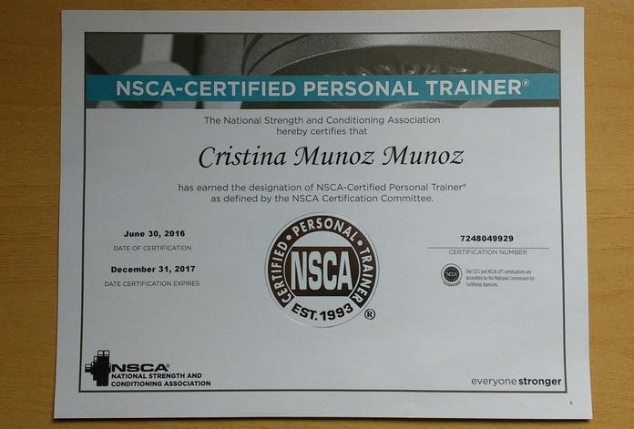 Siempre sumando calidad NSCA-CPT