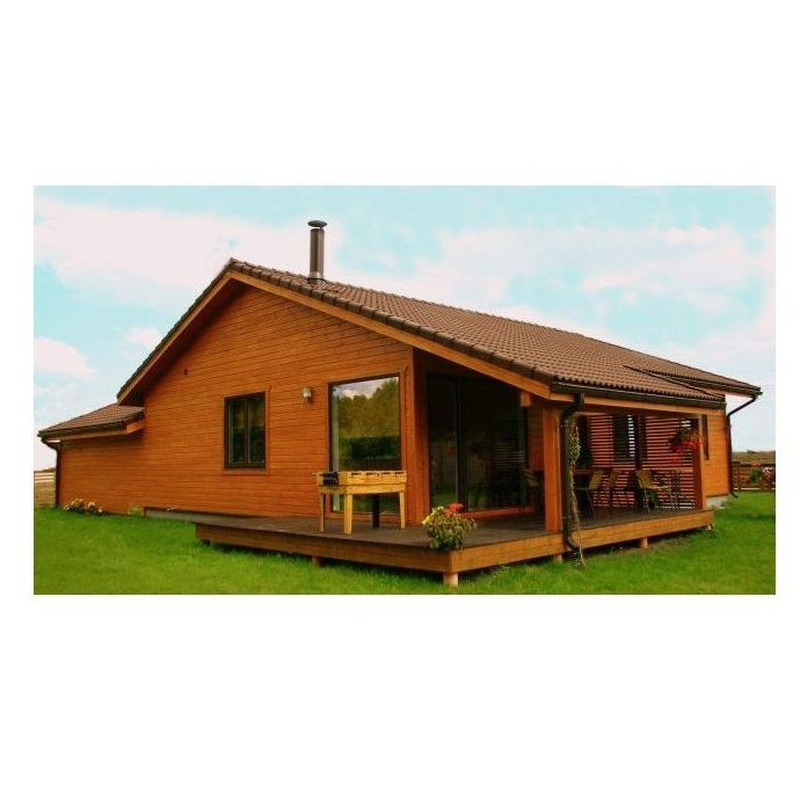 Alba (122 m2): Casas de madera de 5SCC Casas de Madera