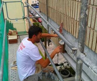 Mantenimiento de tejado en Santander-Torrelavega: Trabajos de Fachadas Cantabria