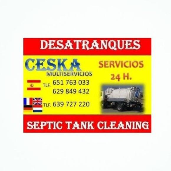 Fugas de agua: Trabajos de Desatranques Ceska