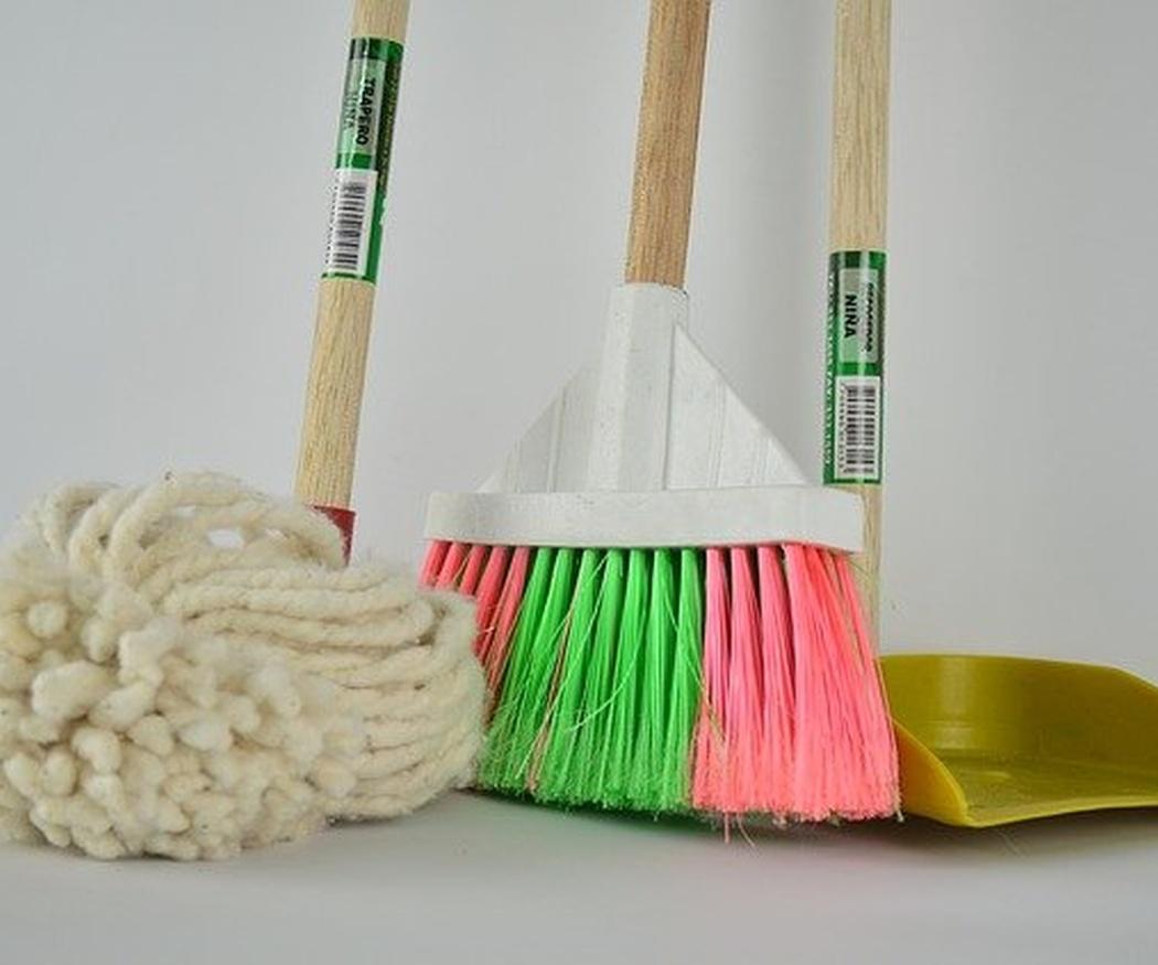 Las superficies más limpiadas en las comunidades de propietarios