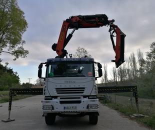 Características del camión grúa