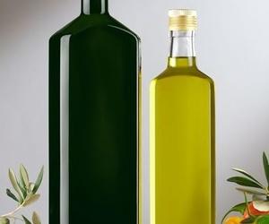 Botellas vidrio aceite