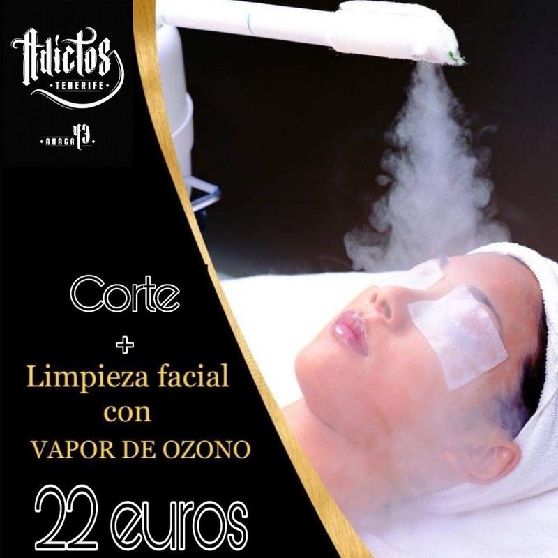 Limpieza faciales con vapor de ozono: Productos de Adictos Tenerife