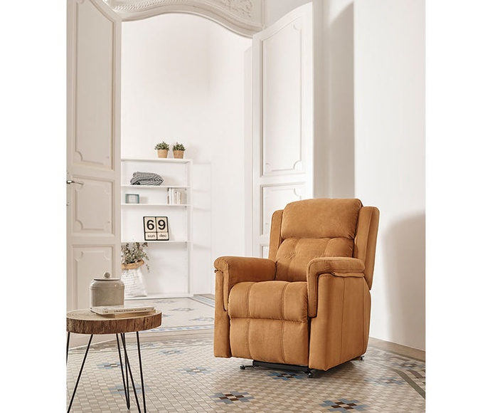 Sillón relax motorizado en muebles sagunto