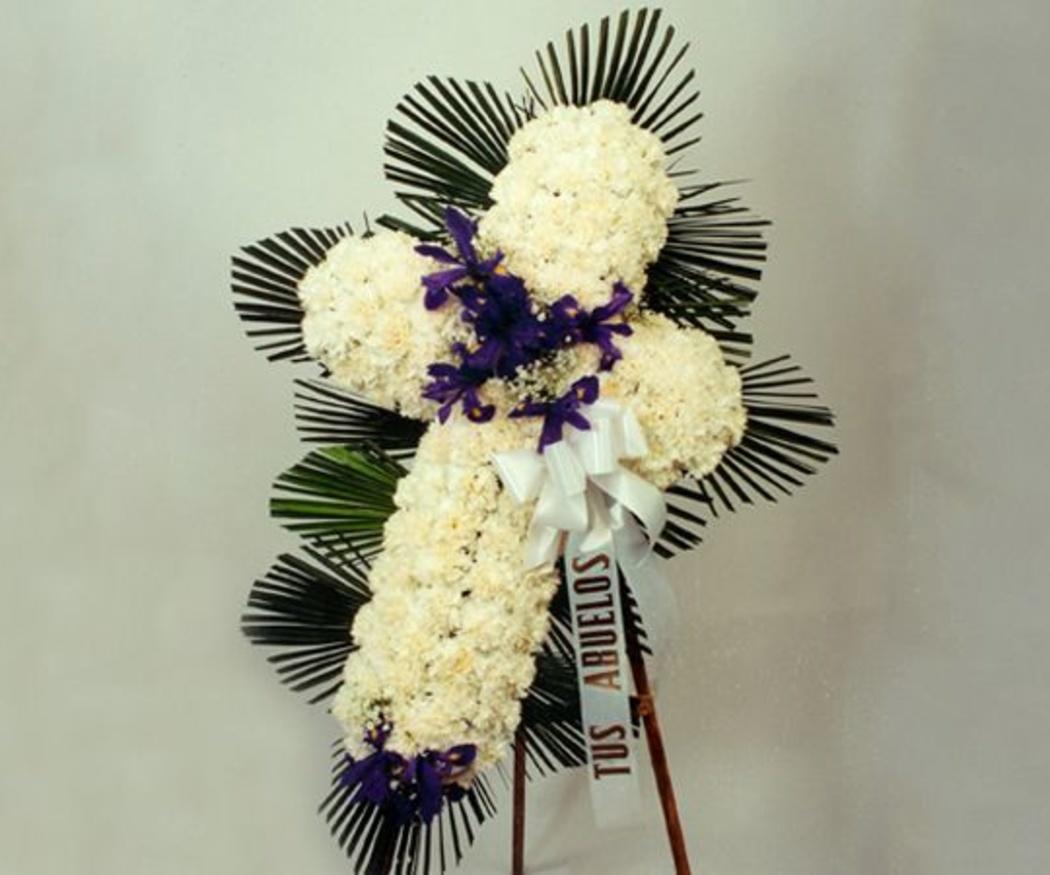 ¿Qué flores son adecuadas para coronas funerarias?