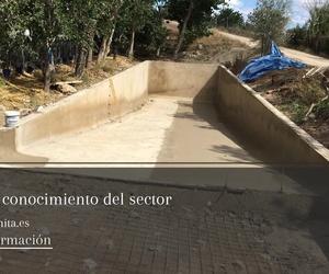 Piscinas de hormigón gunitado en Valencia
