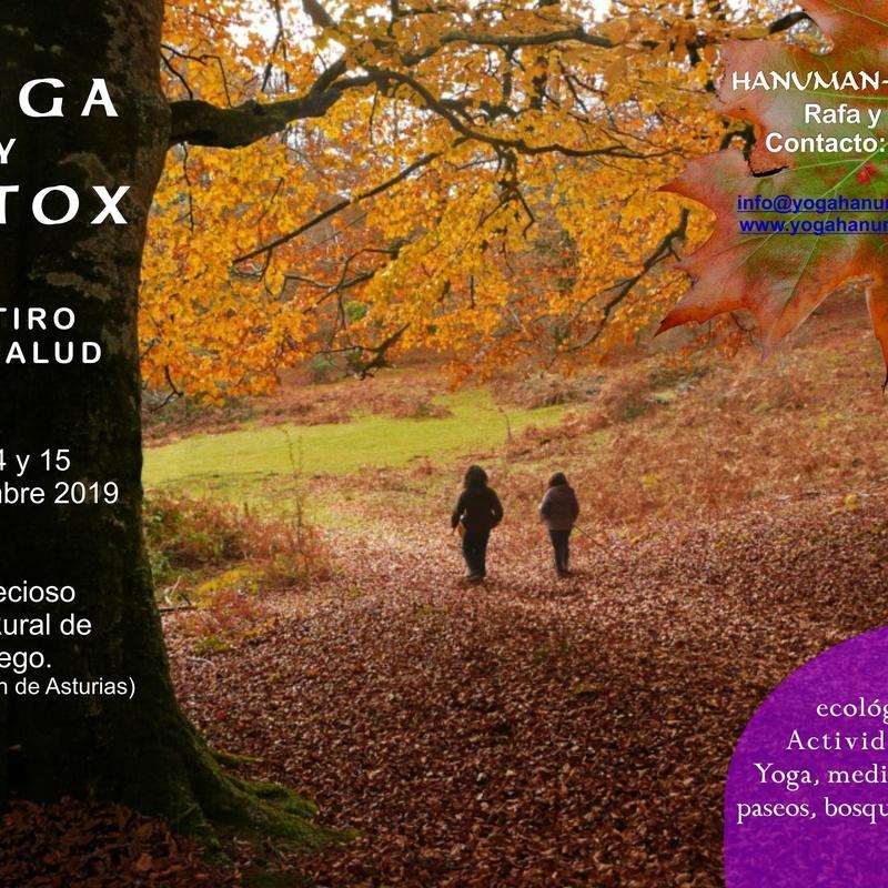 YOGA Y DETOX. Retiro de salud. 13 a 15 de Diciembre 2019