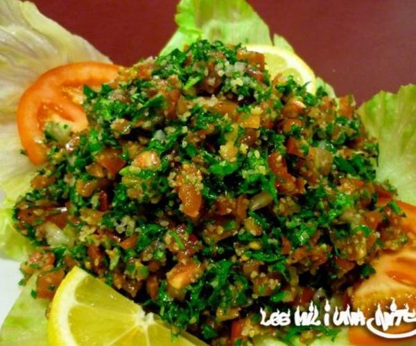 Cocina libanesa en Mataró | Les Mil i Una Nits