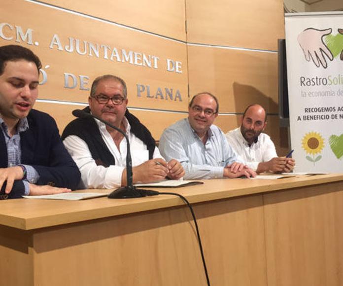 Acuerdo Patim con Rastro Solidario en Castellon para recogida de aceite usado