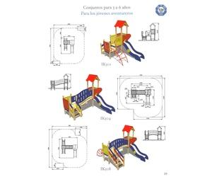 Todos los productos y servicios de Suministro e instalación de parques infantiles: Cami Park
