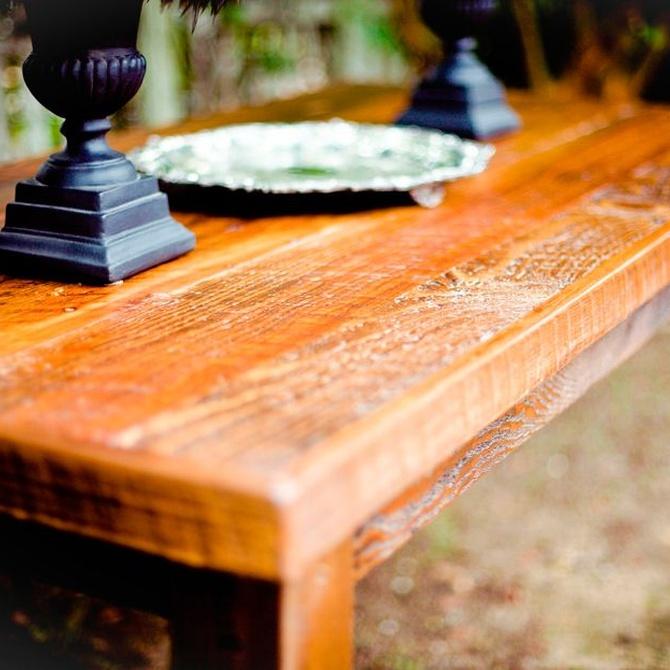 Todos los beneficios que supone la decoración rústica en tu hogar