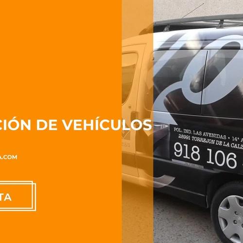 Decoración de stands y rotulación de vehículos en Madrid  Rótulos Osuna