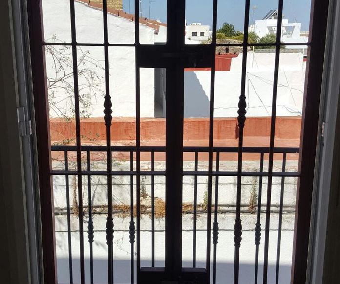 Rejas de hierro Jerez de la Frontera