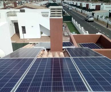 Instalación fotovoltaica domestica
