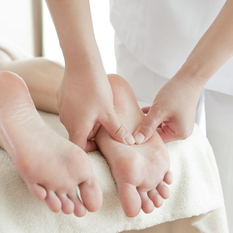 Reflexología podal: Tratamientos de Salvia Belleza y Salud