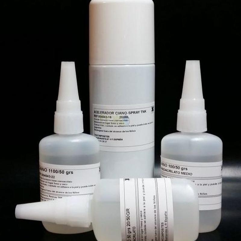 Pegamentos: Productos de Resinas TNK