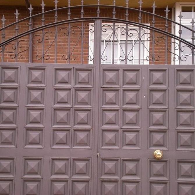 ¿Cómo elegir las puertas metálicas más adecuadas?