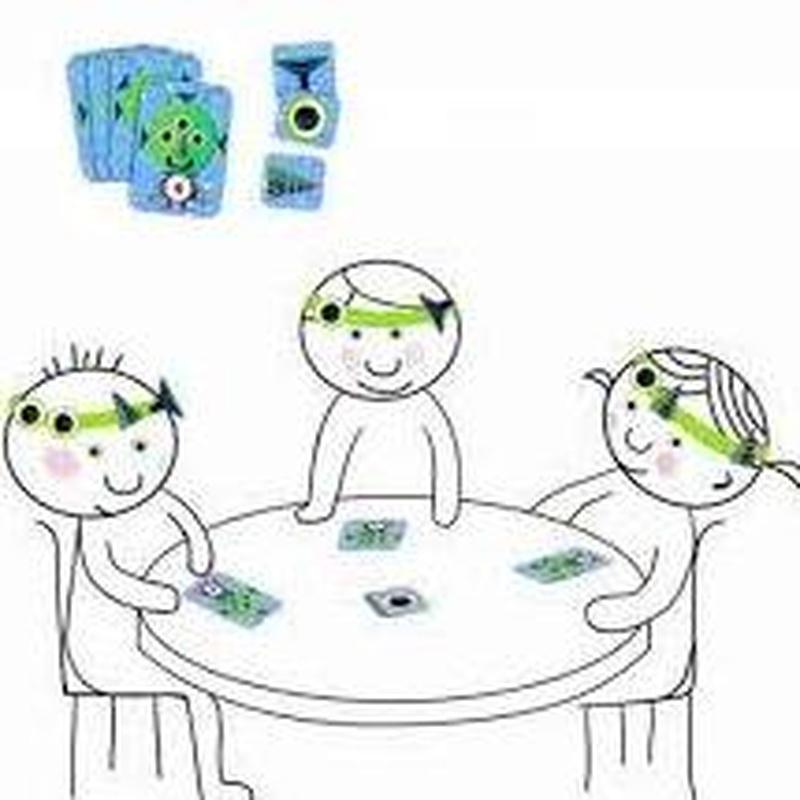 Ejecita tu memoria y atención con el juego de cartas bizaroid. Djeco