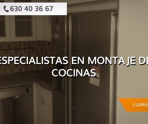 Muebles de cocina de diseño en Madrid centro: Cocinas y Montajes Vos