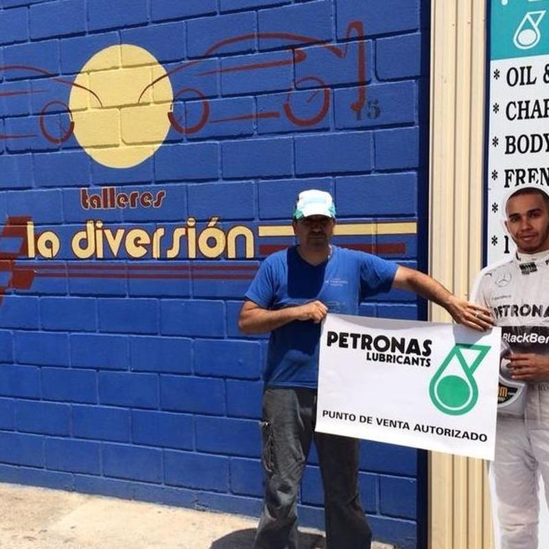 Aceite Petronas: Servicios de Talleres La Diversión