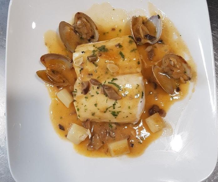 Pescados:  Menús de Restaurante Casa Arteta