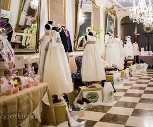 Alquiler de plataformas giratorias para exposición vestidos de comunión