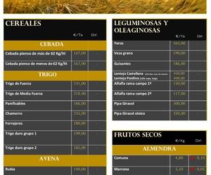 Lonja de Albacete 20.08.18 Cereales & Almendra