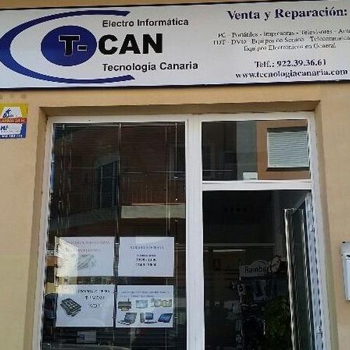 Venta reparación y servicio técnico de equipos informáticos en Tenerife