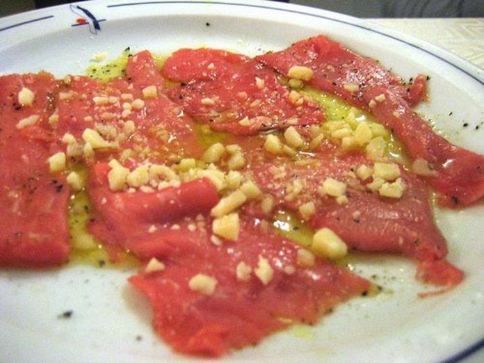 Carpaccio: Catálogo de Restaurante Don Leone