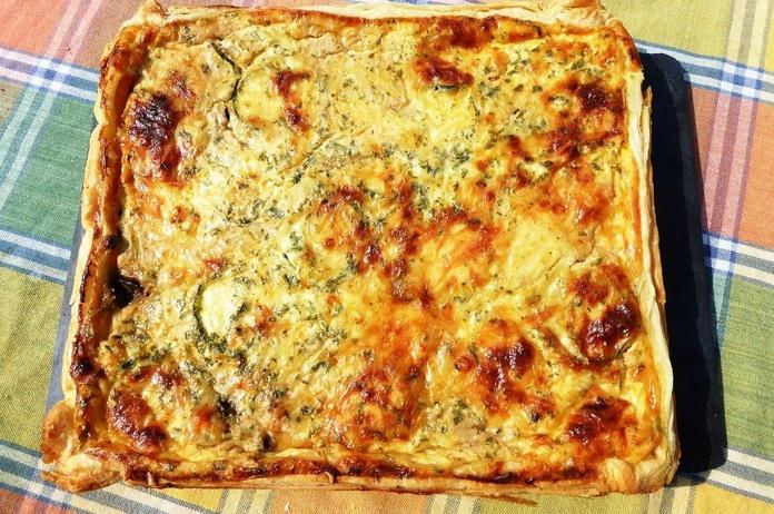 "Quiché ""Francés"": Carta of Pizzeria Fralisani"