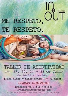 Taller de Asertividad para niños