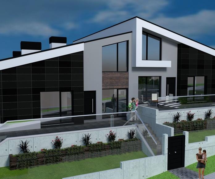 Promoción de 4 viviendas en Sopela
