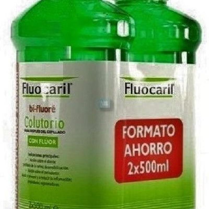 FLUOCARIL BI-FLUORE COL. PACK 2 X 500ML: Productos y Servicios de Farmacia-Ortopedia Can Parellada