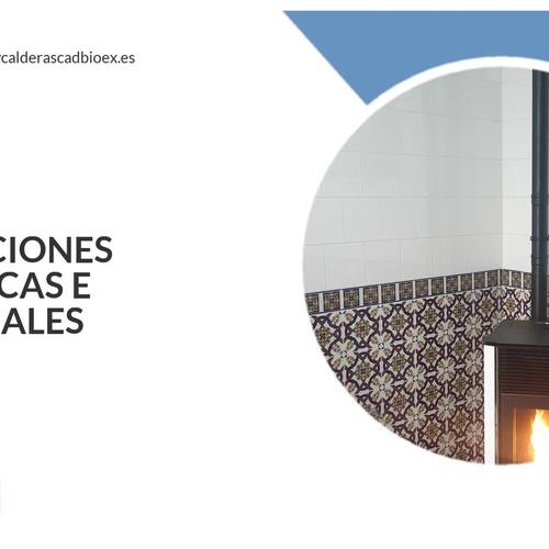Estufas de pellets en Badajoz | Cadbiox