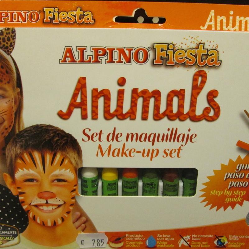 Set de maquillaje ALPINO ANIMALS