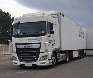 Transporte internacional de mercancías con camiones frigoríficos en Elche