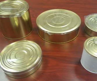 Envases para conservas en Vizcaya