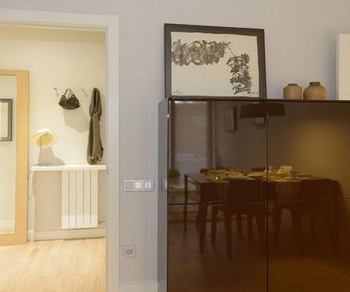 Pintura de interiores para la Promotora La LLave de Oro