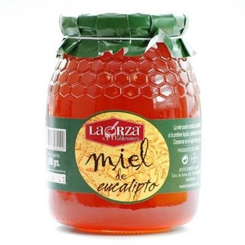 """Miel de eucalipto """"La Orza"""" 1000 grs: Productos. Acceso On Line de El Colmenar de Valderromero"""