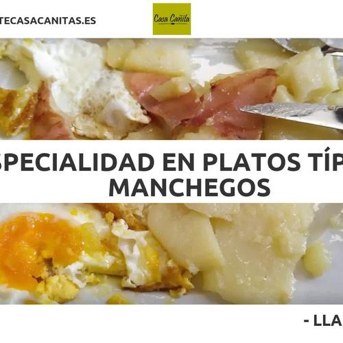 Restaurante con menú diario en Valdepeñas | Casa Cañitas